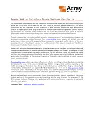 Remote Desktop Solutions Ensure Business Continuity.pdf