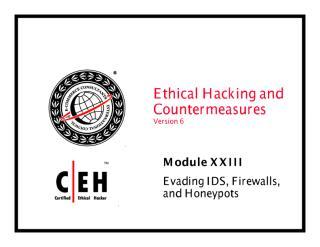 cehv6 module 23 evading ids firewall and honeypot.pdf
