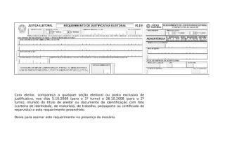 justificativa Eleitoral 2008.doc