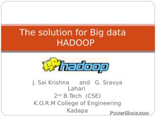 The-solution-for-bigdata-3980135.pps