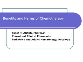 05 chemotherapy side effects com2.ppt