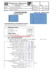 Copy of FLEXURE DESIGN.xls
