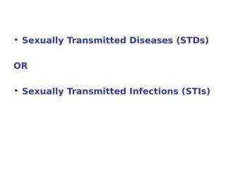 STD part one 09-10.ppt