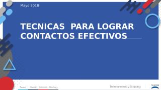 TECNICAS PARA CONTACTAR.pptx