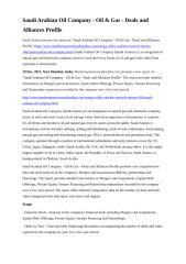 Saudi Arabian Oil Company - Oil & Gas - Deals and Alliances Profile (1).doc