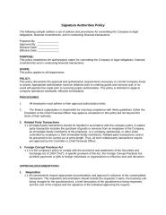 Signature Authorities Policy and Procedures.doc