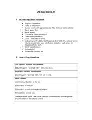 VAD Care Checklist.doc