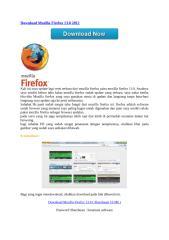 Download Mozilla Firefox 13.0 2012.doc