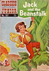 Classics Illustrated Junior #507 Jack and The Beanstalk.cbr