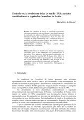 Controle social no sistema único de saúde - SUS - aspectos.pdf