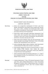 Perda no 2 tahun 2006 - RTRW Jawa Timur.pdf
