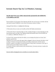 lcd monitor repair tips samsung and lcd monitor.docx