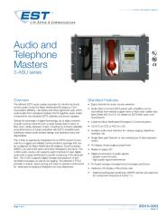 85010-0063 -- EST3 Audio and Telephone Masters.pdf