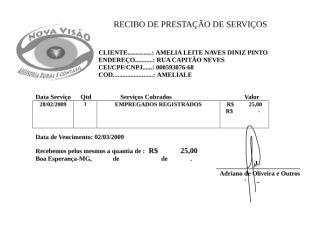 RECIBO DE PRESTAÇÃO DE SERVIÇOS022009.doc
